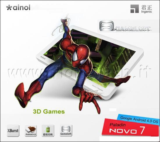 Ramz Rom: Ainol NOVO 7 Paladin Android Tablet PC Firmware